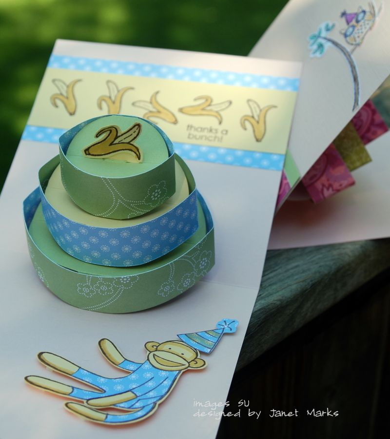 Popup cake card