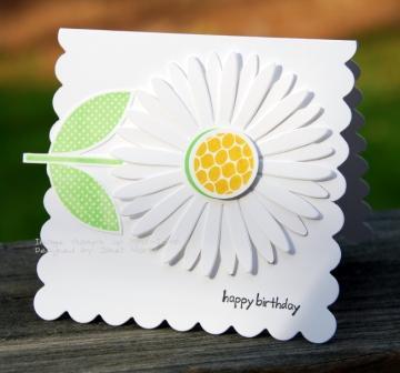 Simple scallop daisy