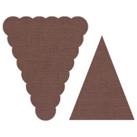 Petites Pennants Builder Punch 122361